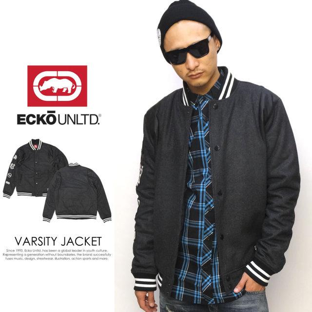 ECKO UNLTD エコーアンリミテッド スタジアムジャケット VARSITY JACKET EM-010038 5V5237