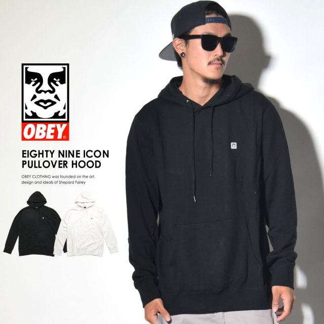 OBEY オベイ プルオーバーパーカー EIGHTY NINE ICON PULLOVER HOOD 111610032 6V5095