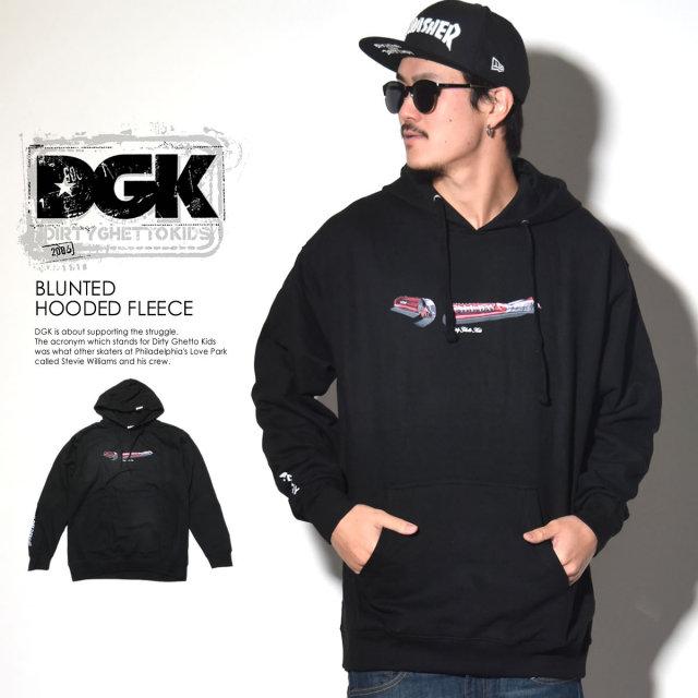 DGK ディージーケー プルオーバーパーカー BLUNTED HOODED FLEECE DPO-326 6V7273
