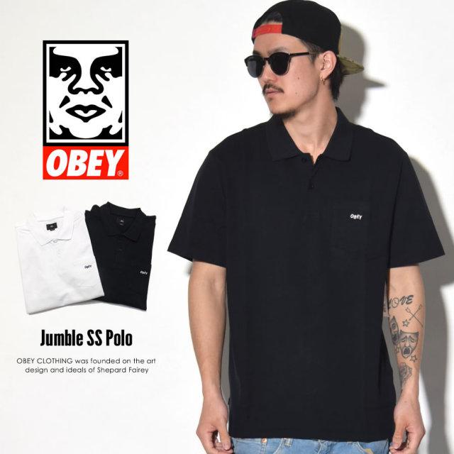 OBEY オベイ ポロシャツ JUMBLE SS POLO 131090027 7V1192