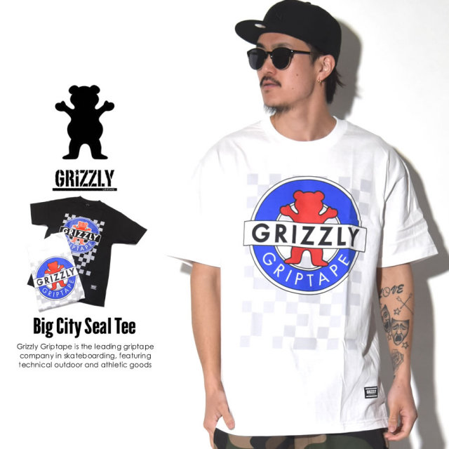 GRIZZLY GRIPTAPE グリズリーグリップテープ 半袖Tシャツ OG BEAR MOTION TEE GMA1701P18 7V1218