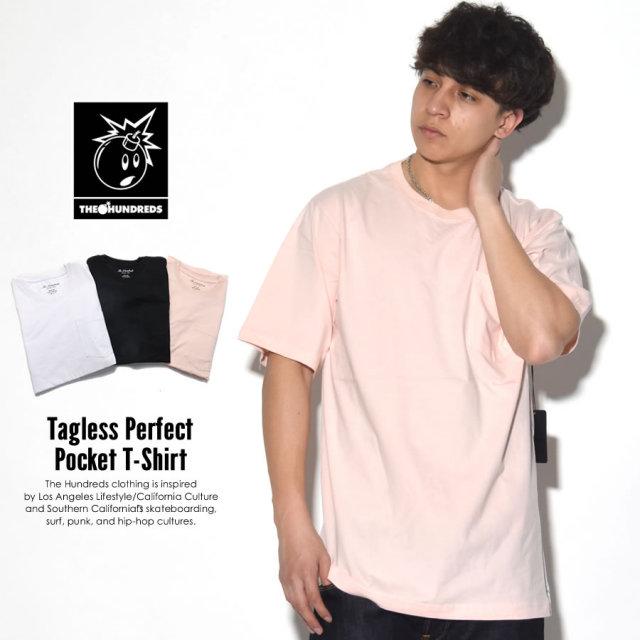 THE HUNDREDS ザ・ハンドレッツ 半袖Tシャツ TAGLESS PERFECT POCKET T-SHIRT T17P109023 7V1272