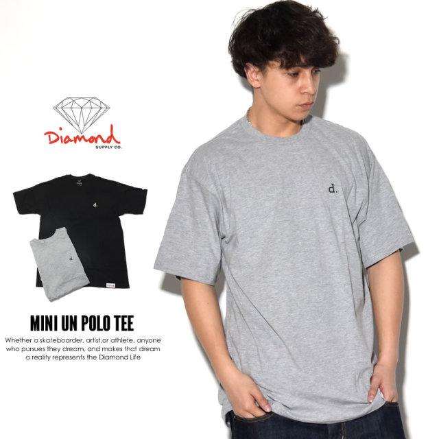 ダイヤモンドサプライ Diamond Supply Co. Tシャツ メンズ MINI UN POLO TEE (A17DMPA02)