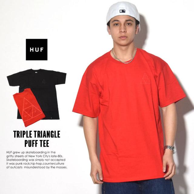 HUF ハフ 半袖Tシャツ TRIPLE TRIANGLE PUFF TEE TS00054 7V1388