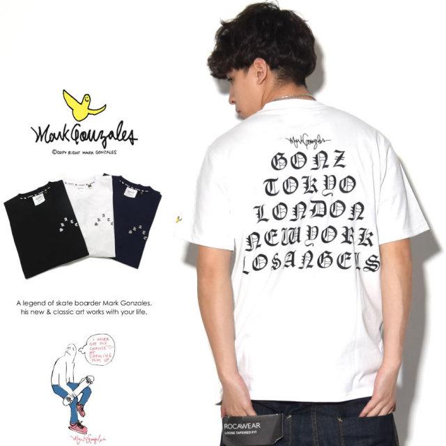 MARK GONZALES マークゴンザレス 半袖Tシャツ 2G7-2302 7V1420