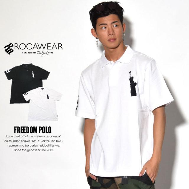 ROCAWEAR ロカウェア ポロシャツ FREEDOM POLO RW172K04 7V1442