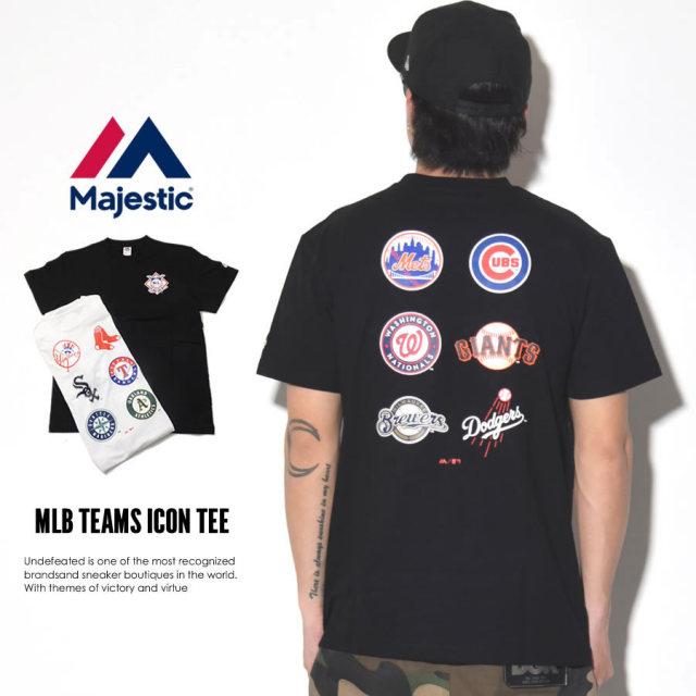 MAJESTIC マジェスティック 半袖Tシャツ MLB TEAMS ICON TEE MM01-MLB-0259 7V3001