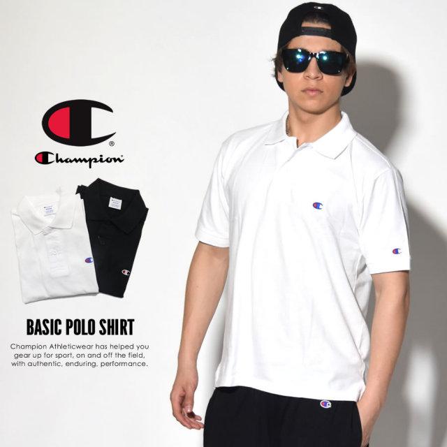 CHAMPION チャンピオン ポロシャツ BASIC POLO SHIRT C3-F356 7V3136