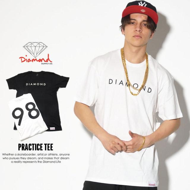 DIAMOND SUPPLY CO. ダイヤモンドサプライ 半袖Tシャツ PRACTICE TEE B17DMPA03 7V3255