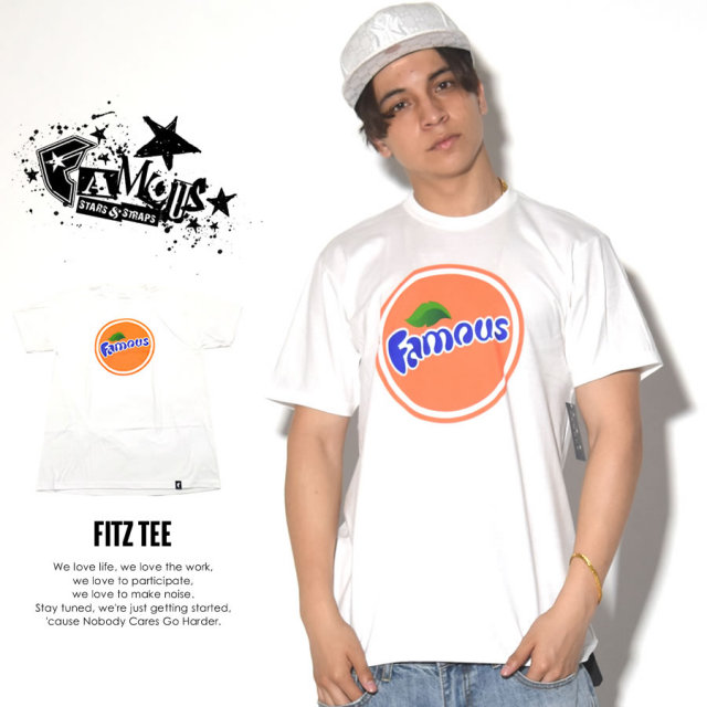 FAMOUS STRAS & STRAPS フェイマススターズアンドストラップス 半袖Tシャツ FITZ TEE FM02170006 7V3263