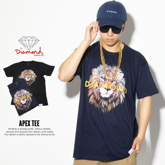 DIAMOND SUPPLY CO ダイヤモンドサプライ 半袖Tシャツ APEX TEE B17DMPA13 7V3279