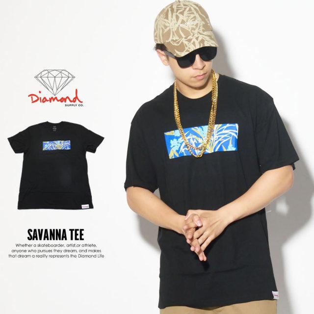 DIAMOND SUPPLY CO ダイヤモンドサプライ 半袖Tシャツ SAVANNA TEE B17DMPA15 7V3280