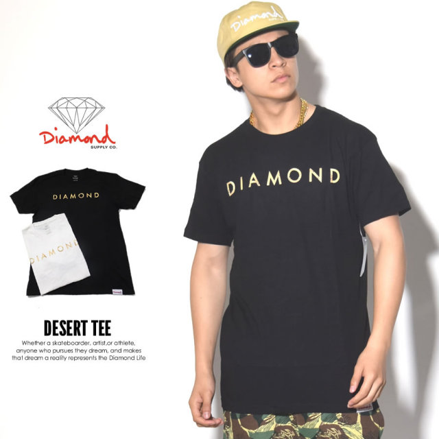DIAMOND SUPPLY CO ダイヤモンドサプライ 半袖Tシャツ DESERT TEE B17DMPA21 7V3281