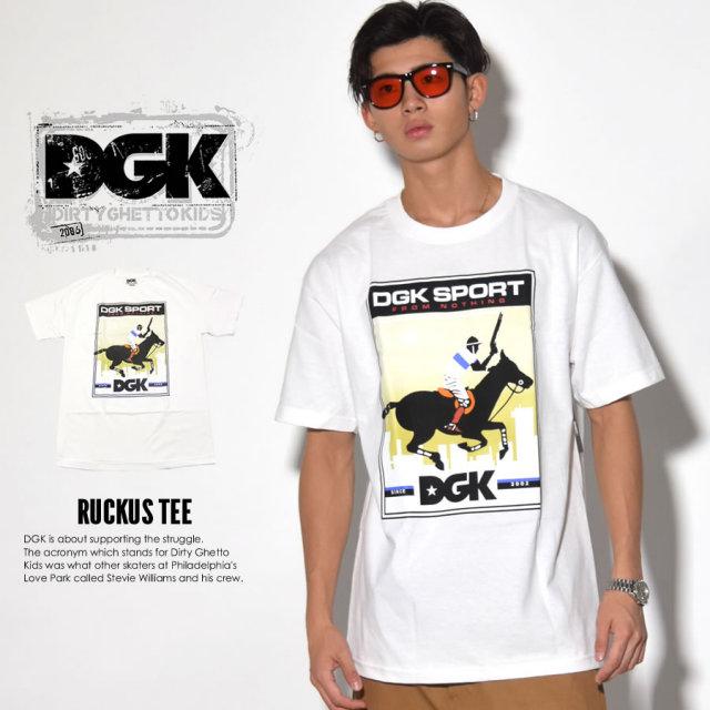 DGK ディージーケー 半袖Tシャツ RUCKUS TEE DT-3623 7V3309