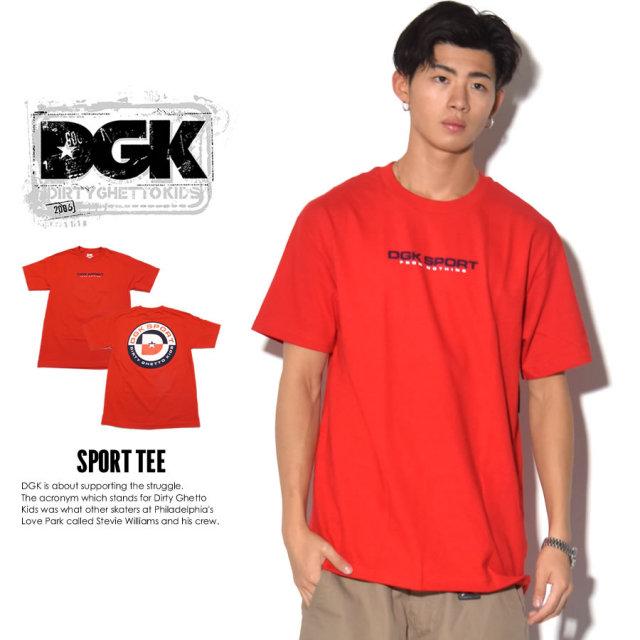 DGK ディージーケー 半袖Tシャツ SPORT TEE DT-3626 7V3311