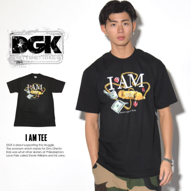 DGK ディージーケー 半袖Tシャツ I AM TEE DT-3634 7V3314