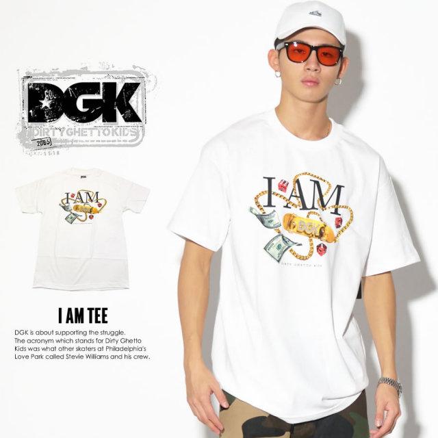 DGK ディージーケー 半袖Tシャツ I AM TEE DT-3635 7V3315