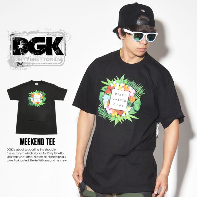 DGK ディージーケー 半袖Tシャツ WEEKEND TEE DT-3676 7V3386