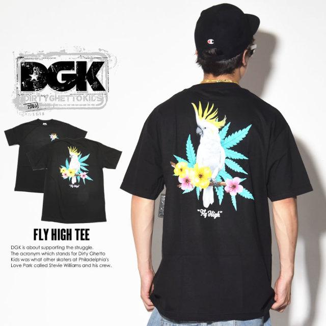 ディージーケー DGK Tシャツ メンズ 半袖 FLYHIGHTEE (DT-3679)