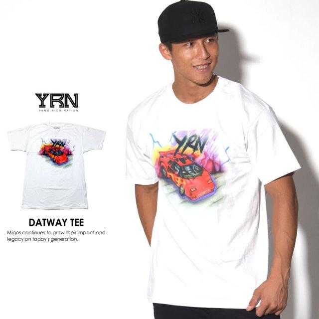 YRN ヤングリッチネイション 半袖Tシャツ DATWAY TEE YT17T50 7V3400