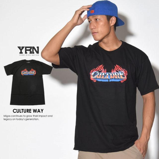 YRN ヤングリッチネイション 半袖Tシャツ CULTURE WAY YT17T52 7V3401