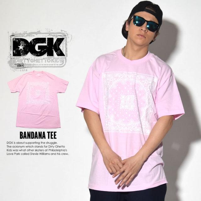 DGK ディージーケー 半袖Tシャツ BANDANA TEE DT-3829 7V4037