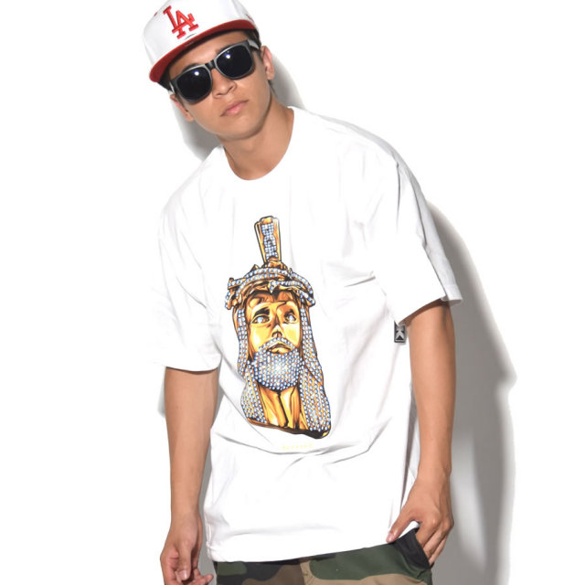 DGK ディージーケー 半袖Tシャツ JESUS PIECE TEE DT-3955 7V5022