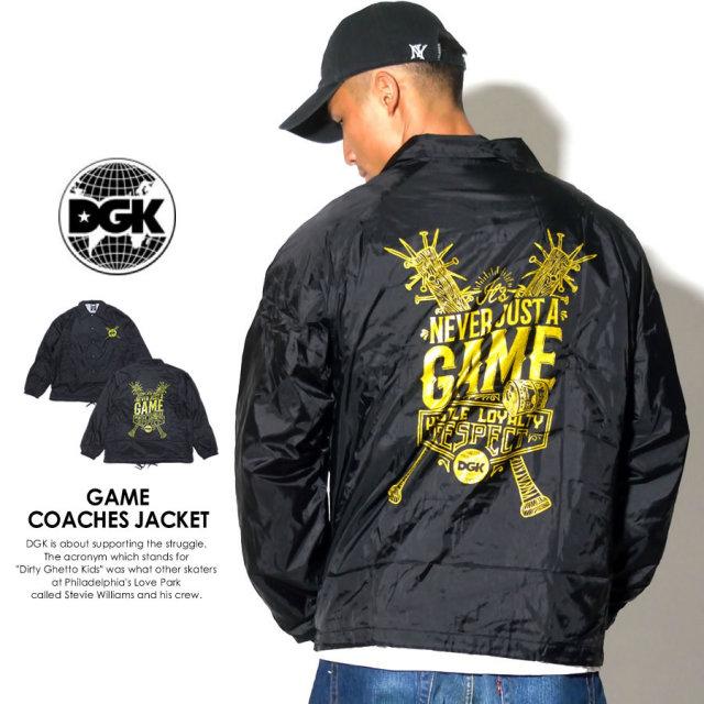 DGK ディージーケー コーチジャケット COACH JACKET DJT-191 7V5396