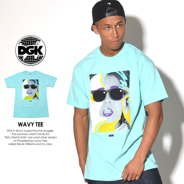 DGK ディージーケー 半袖Tシャツ WAVY TEE DT-3769 7V5400