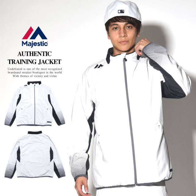 MAJESTIC マジェスティック トラックトップ AUTHENTIC TRAINING JACKET XM23-WHT5-MAJ0031 7V5417