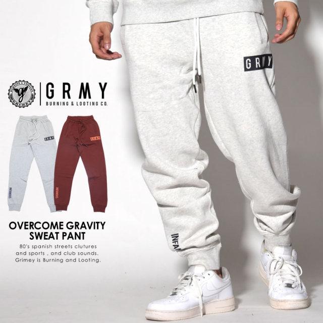 GRIMEY グライミー スウェットパンツ OVERCOME GRAVITY SWEAT PANT GRTS132 7V5446