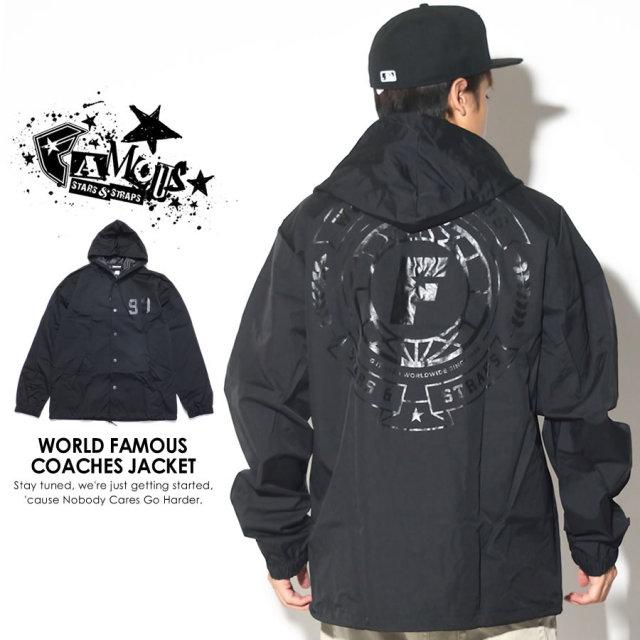 FAMOUS STRAS&STRAPS フェイマススターズアンドストラップス コーチジャケット WORLD FAMOUS COACHES JACKET FM03170058 7V5460