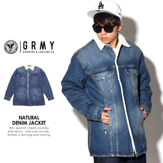 GRIMEY グライミー デニムジャケット NATURAL DENIM JACKET GLDJ103 7V7040