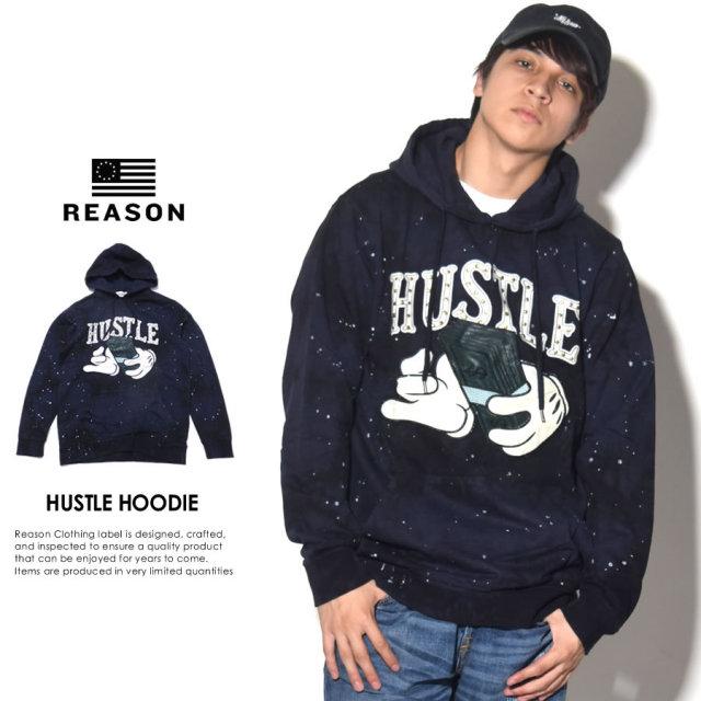 REASON リーズン プルオーバーパーカー HUSTLE HOODIE W8-82 7V7142