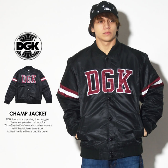 DGK ディージーケー バーシティジャケット CHAMP JACKET DJT-197 7V7271
