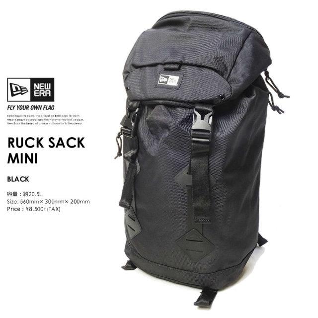 NEW ERA (ニューエラ) バックパック RUCKSACK MINI 20.5L ブラック (11404173)