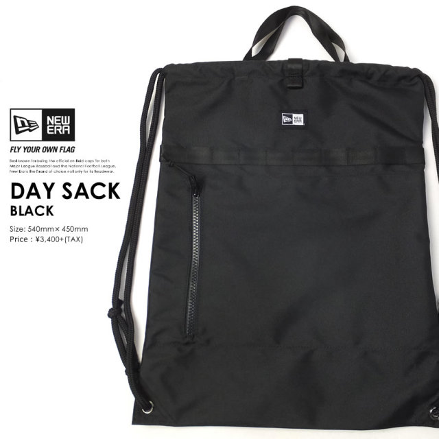 New Era (ニューエラ) ナップサック DAY SACK ブラック (11404480)