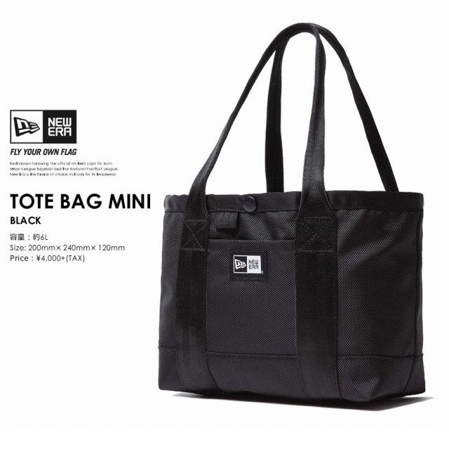 New Era (ニューエラ) トートバッグ TOTE BAG MINI 6L ブラック (11404200)