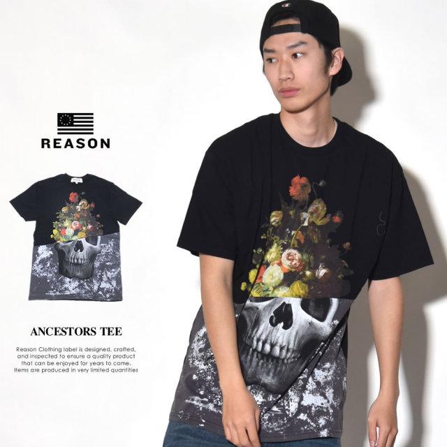 REASON リーズン 半袖Tシャツ メンズ ANCESTORS TEE (K1-82-09)