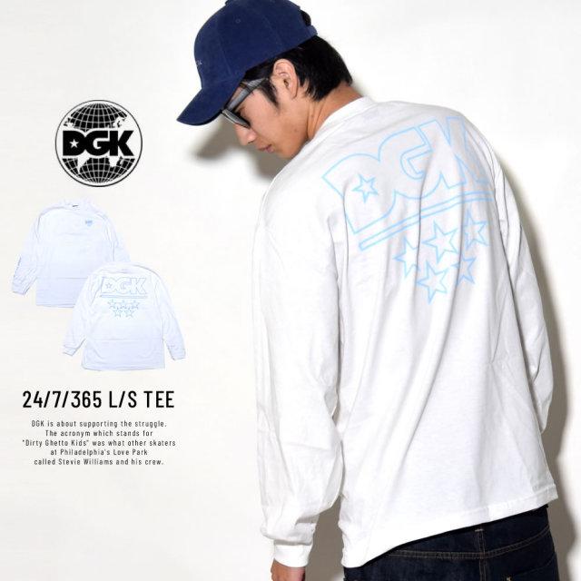 DGK ディージーケー 長袖Tシャツ 24/7/365 L/S TEE (DLS-317)