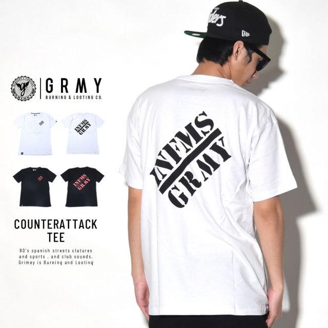 GRIMEY グライミー 半袖Tシャツ COUNTERATTACK TEE (GA486)