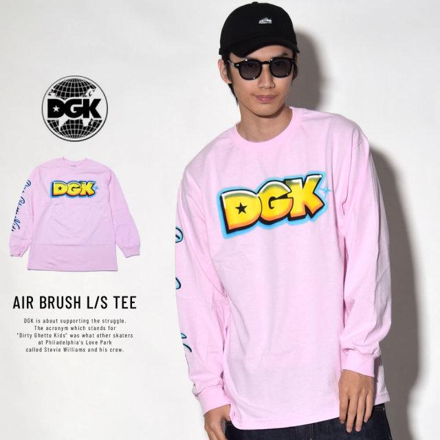 DGK ディージーケー 長袖Tシャツ AIR BRUSH L/S TEE (DLS-321)