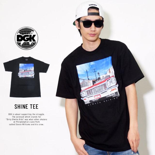 DGK ディージーケー 半袖Tシャツ SHINE TEE (DT-4031)