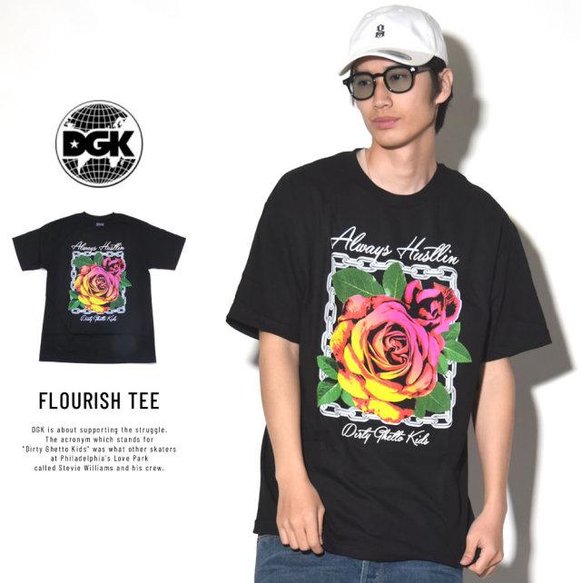 DGK ディージーケー 半袖Tシャツ FLOURISH TEE (DT-4041)