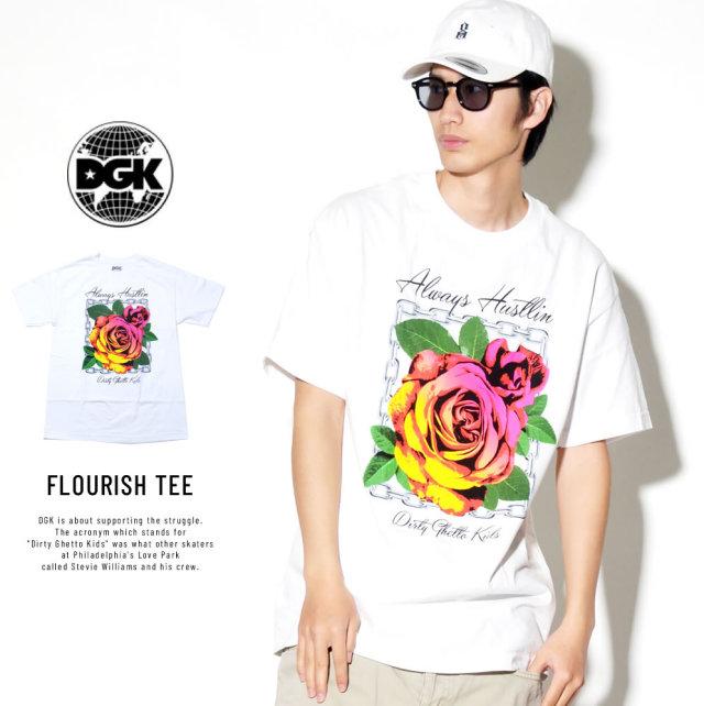 DGK ディージーケー 半袖Tシャツ FLOURISH TEE (DT-4042)