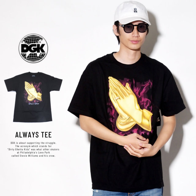 DGK ディージーケー 半袖Tシャツ ALWAYS TEE (DT-4068)