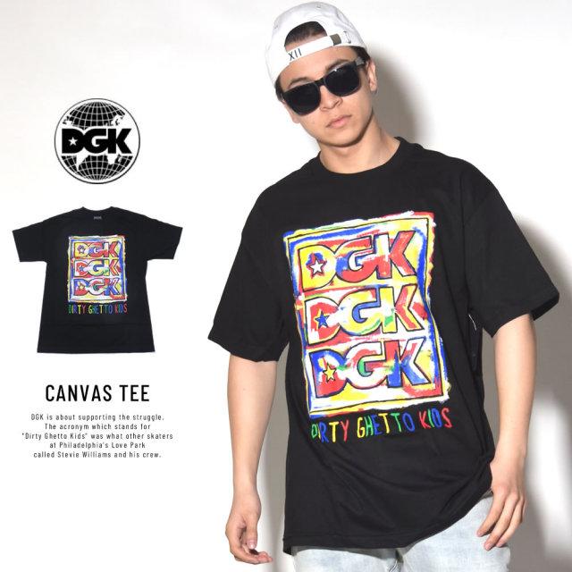 DGK ディージーケー 半袖Tシャツ CANVAS TEE (DT-4044)