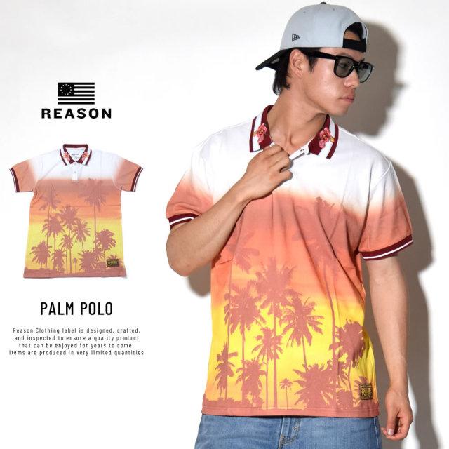 REASON リーズン ポロシャツ PALM POLO (Q8-108)