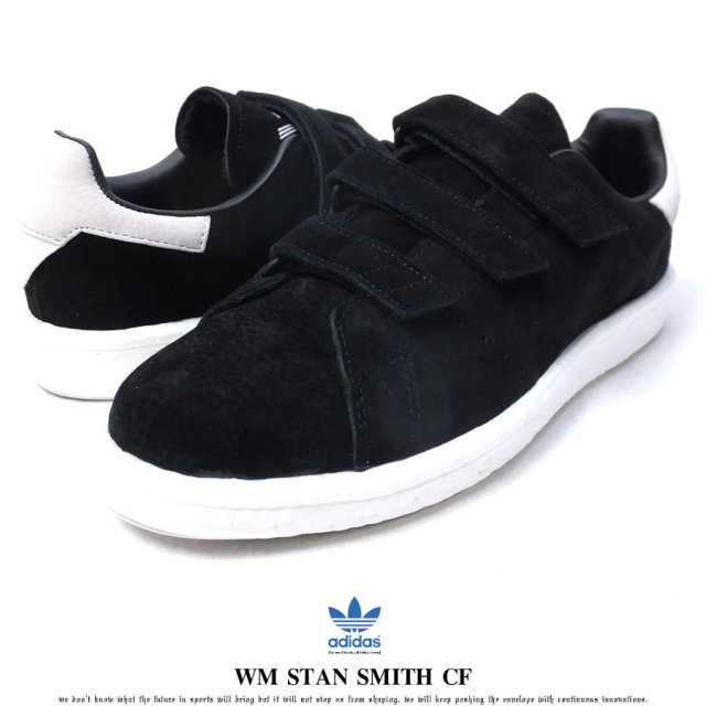 adidas Originals by White Mountaineering アディダス オリジナルス バイ ホワイトマウンテニアリング スニーカー メンズ WM STAN SMITH CF スタンスミス CBLACK/CBLACK/FTWWHT (CG3650)
