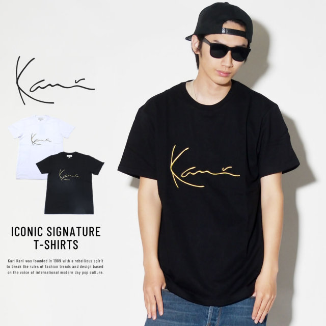 KARL KANI カールカナイ 半袖Tシャツ ICONIC SIGNATURE T-SHIRTS (K170119)